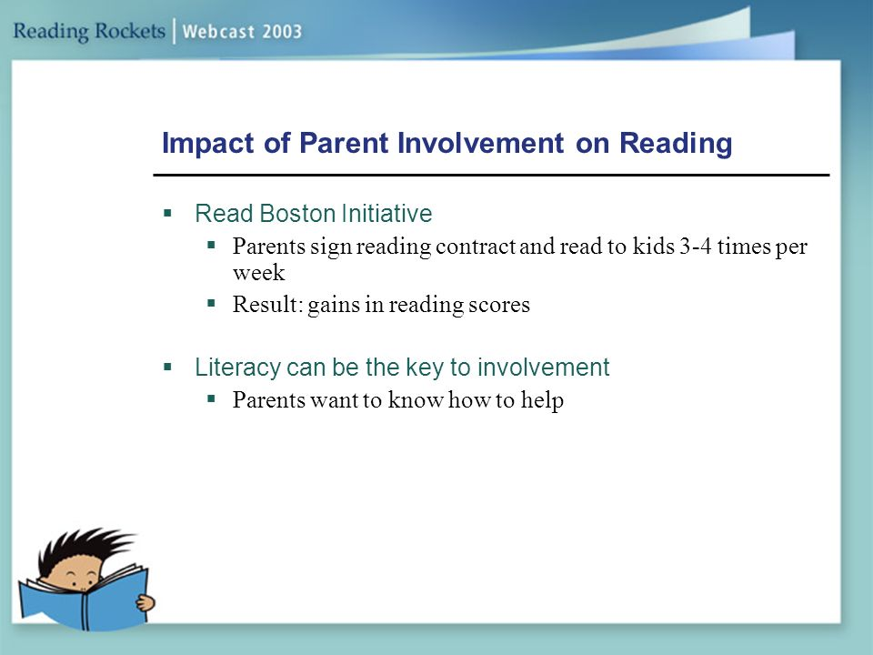 impact of parental involvement in the The concept of parent involvement some theoretical and empirical considerations joep bakker eddie denessen a recent review of the impact of parental involvement on pupil achievement (desforges and abouchaar, 2003) shows research on.