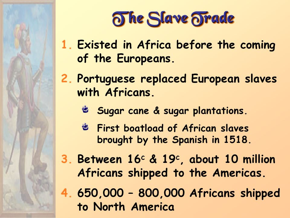 Why did the europeans bring slaves from africa to america out of all the other continents?