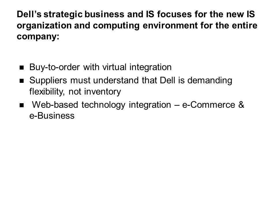 dell s business structure overview Sap official site for latest news and information from sap | press releases and newsroom | in-depth feature articles on business & technology trends | blogs | videos.