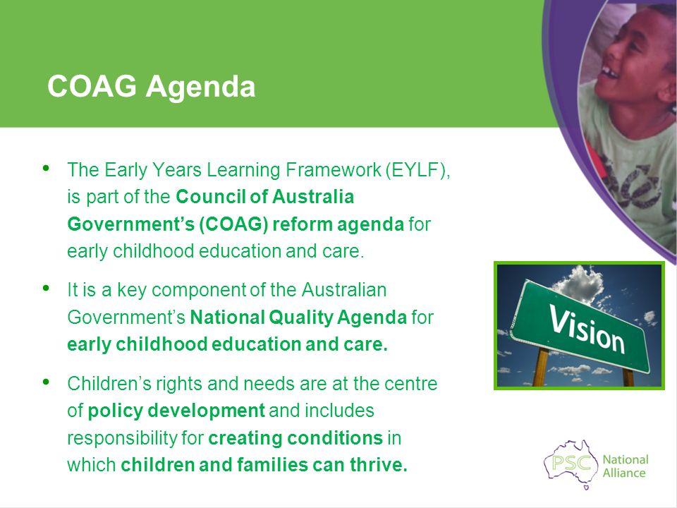 COAG Agenda