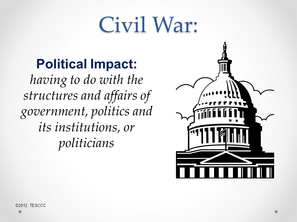 social political and economic causes of the civil war essay Causes of the civil war 1861 causes of the civil war essay the civil war had a significant economic, political, and social implication.