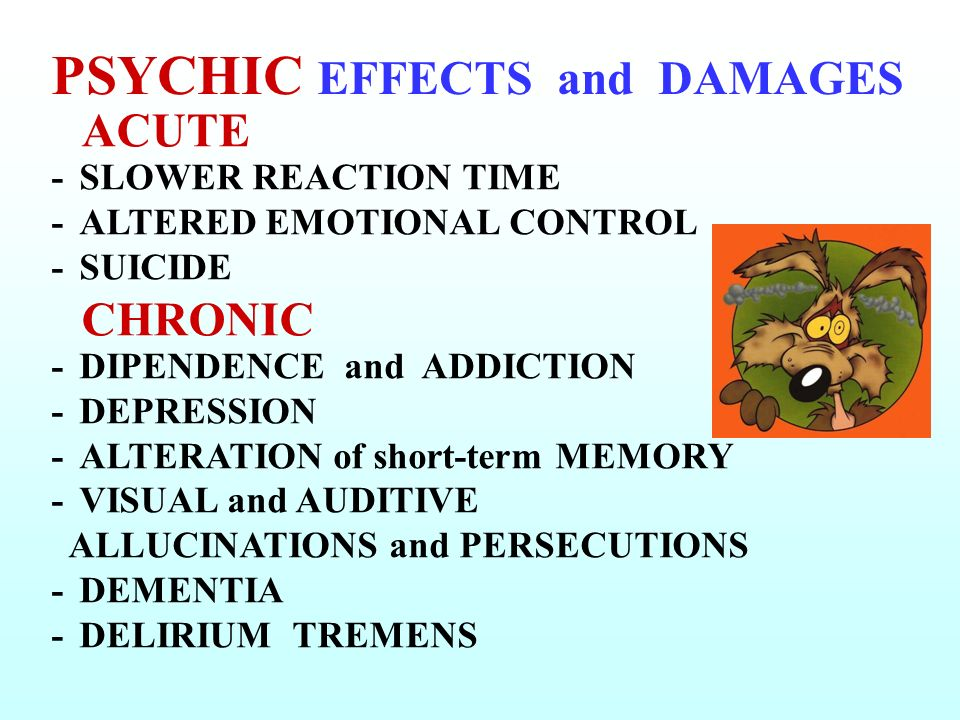 PSYCHIC EFFECTS and DAMAGES