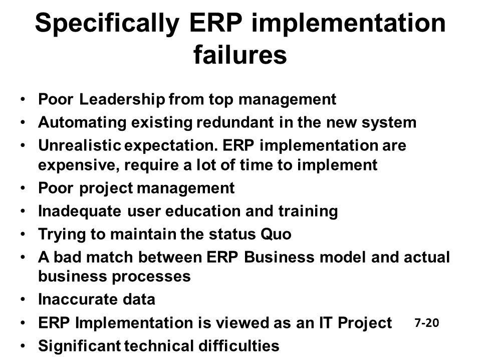 it project implementation failures Government project failure in ghana: a multidimensional approach  the failure areas (criteria) on which to focus during government project implementation.