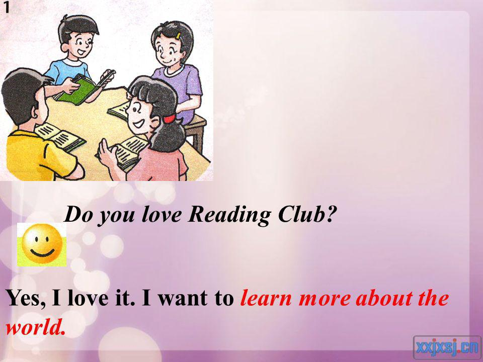 Do you love Reading Club