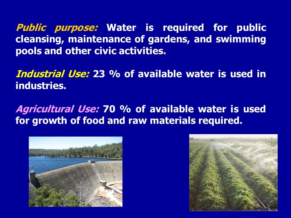 The lecture water as factor of health its hygienic for Salmonella swimming pool