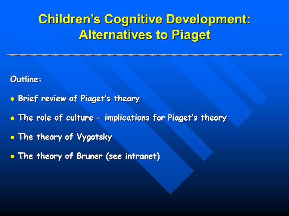 alternatives to piaget critical essays on the theory