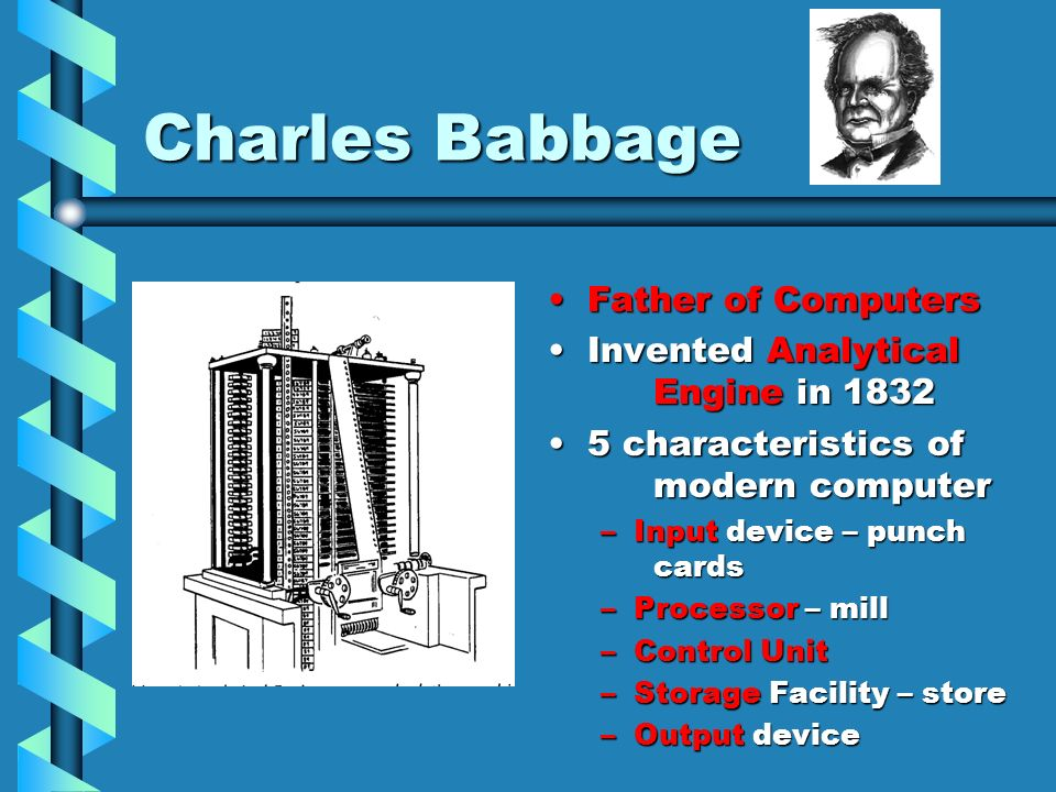 Charles Babbage Father of Computers Invented Analytical Engine in 1832
