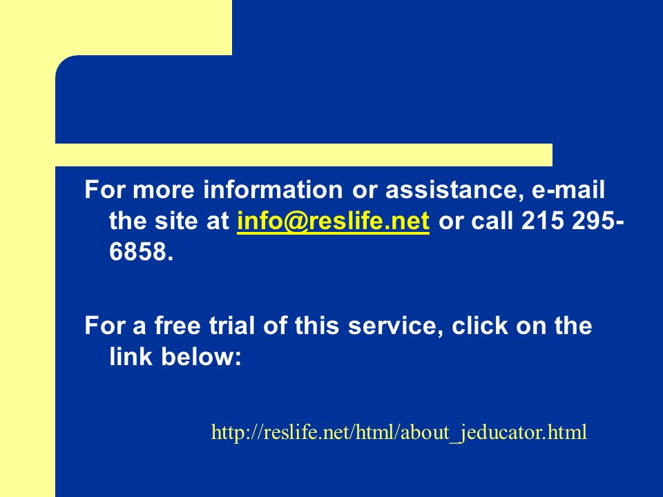 For a free trial of this service, click on the link below: