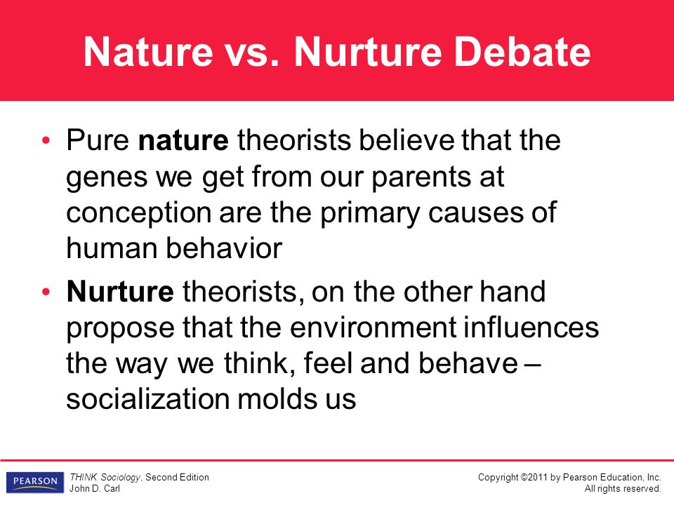 nature versus nurture as predictors of happiness s debate