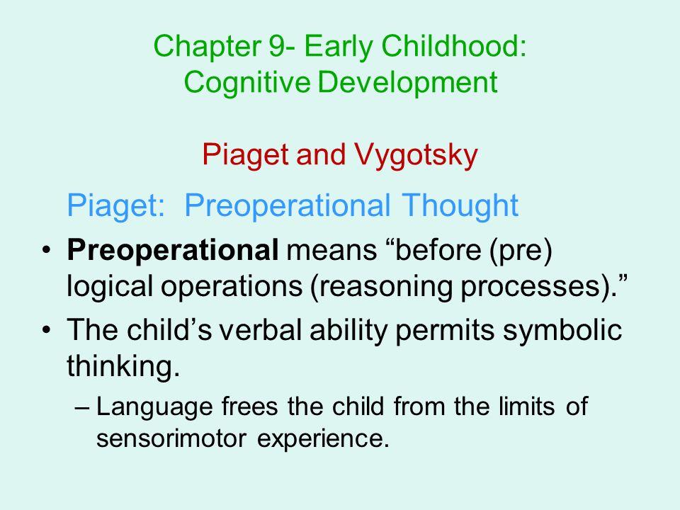 vygotsky vs piaget cognitive development