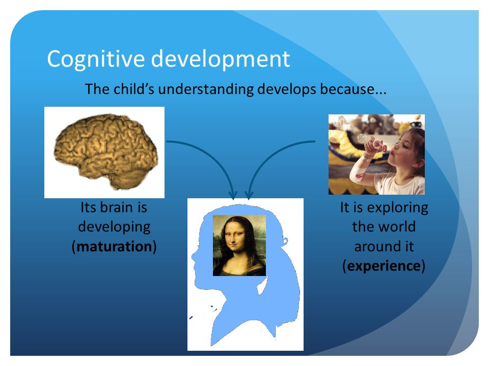 the process of the cognitive development of children Piaget's assumption that cognitive development in children happens in leaps and bounds has also been criticized many argue that it is a continuous process despite all the criticism, it is indisputable that piaget's theory was one of the most influential theories on cognitive development.