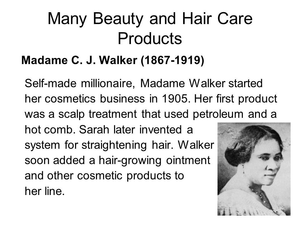 Many Beauty and Hair Care Products