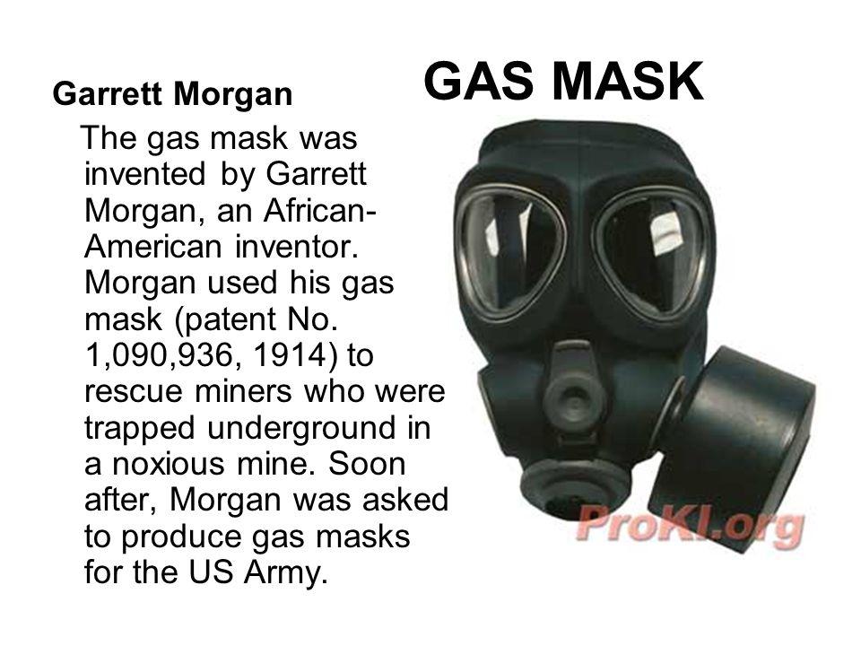GAS MASK Garrett Morgan