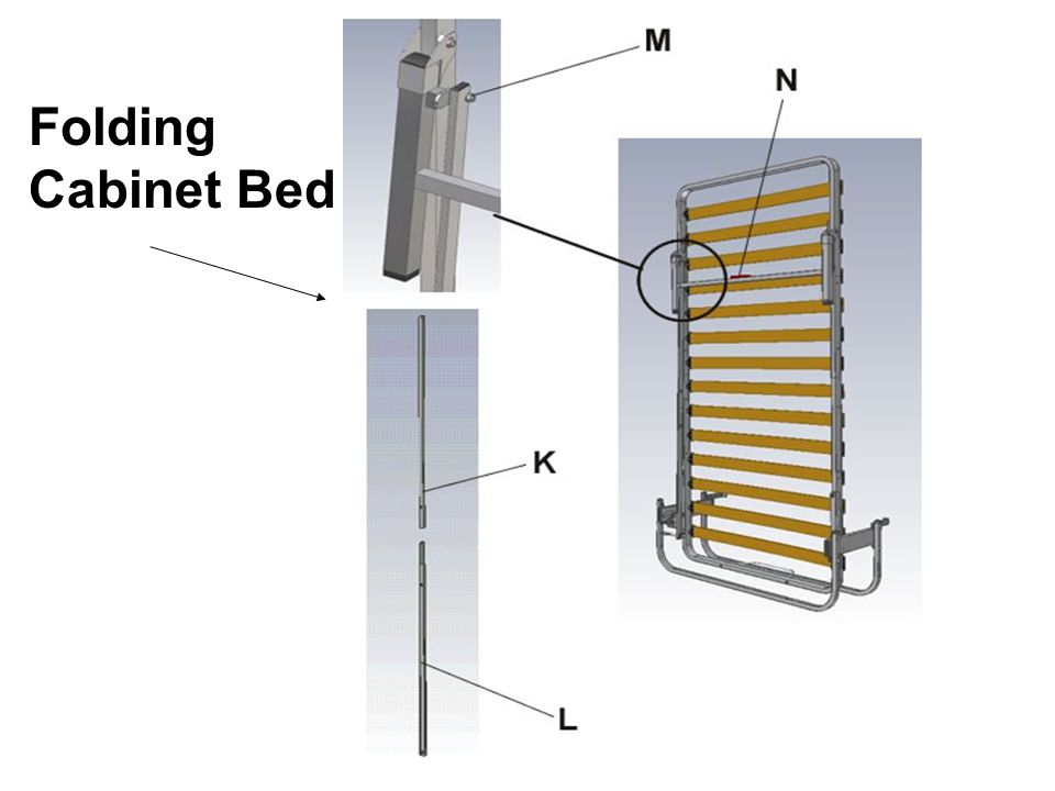 Folding Cabinet Bed