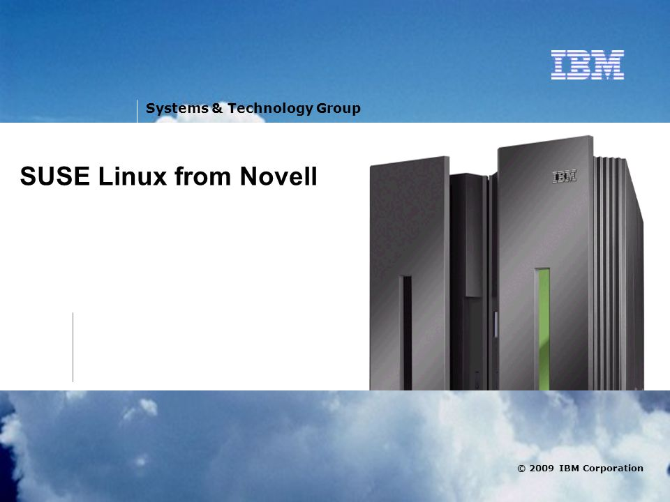 SUSE Linux from Novell