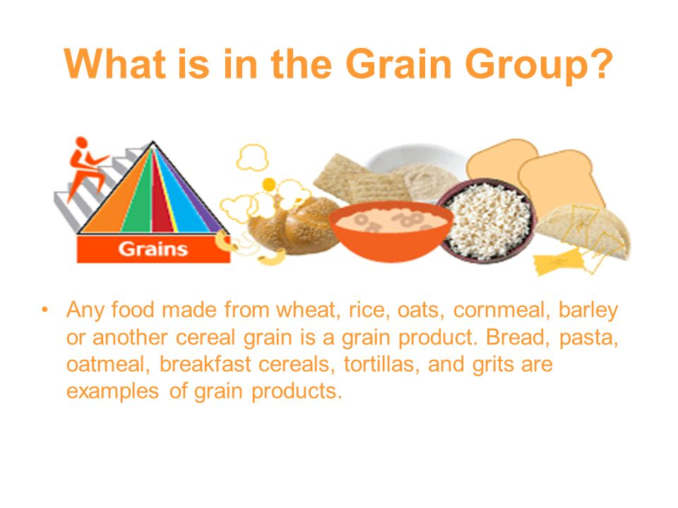 What is in the Grain Group