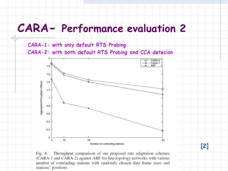 CARA- Performance evaluation 2