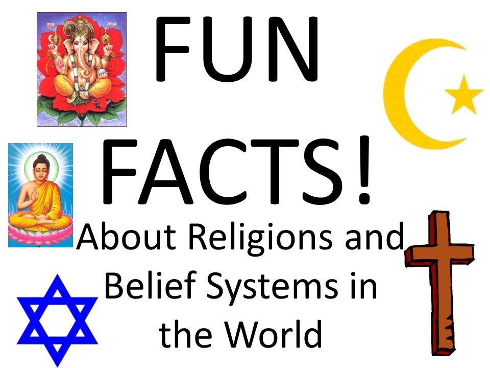 About Religions and Belief Systems in the World