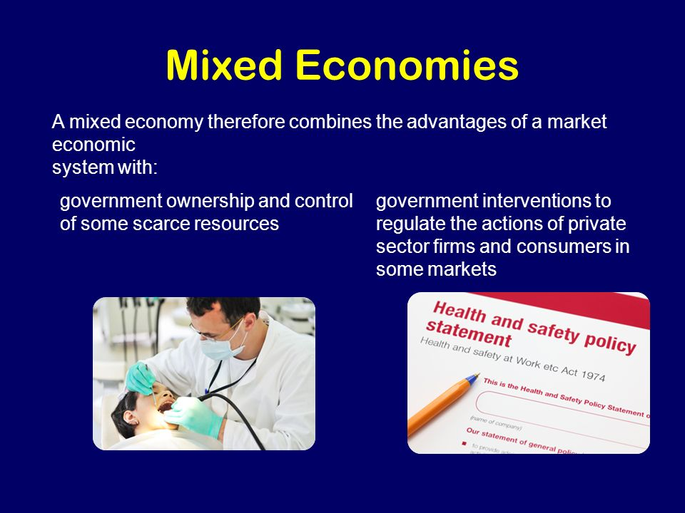 mixed economy system The economists close to raúl who have long argued for a mixed economy, in the mould of china or vietnam, finally appear to have got their way.