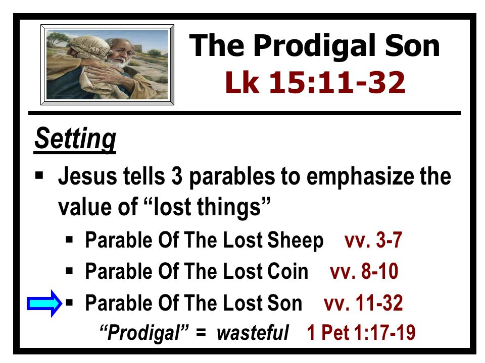 a literary analysis of the parable of the parable of the prodigal son Modern (critical) parable interpretation and the name adolf jülicher are from this perspective, the father in the parable of the prodigal son is a father that.