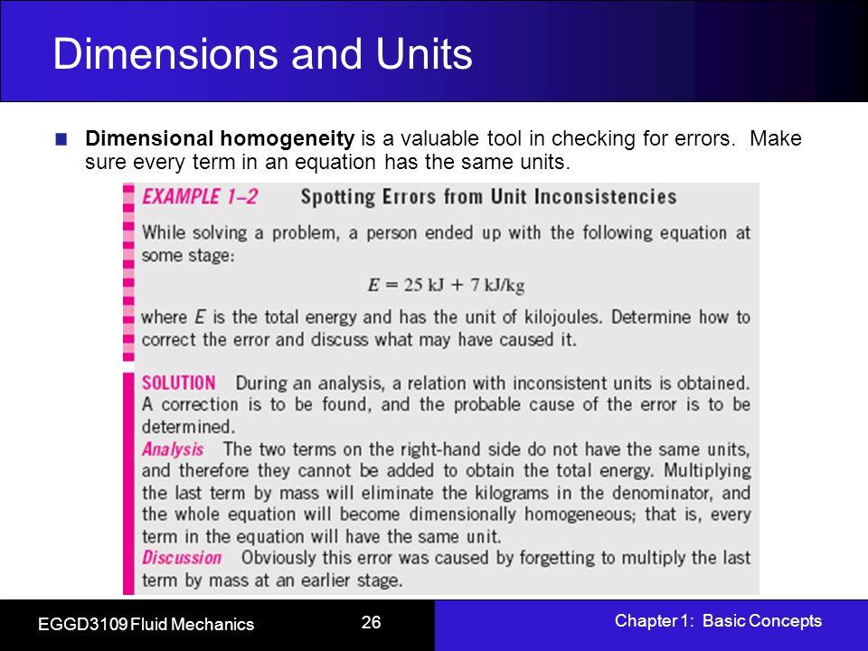 fluid mechanics units and dimensions pdf