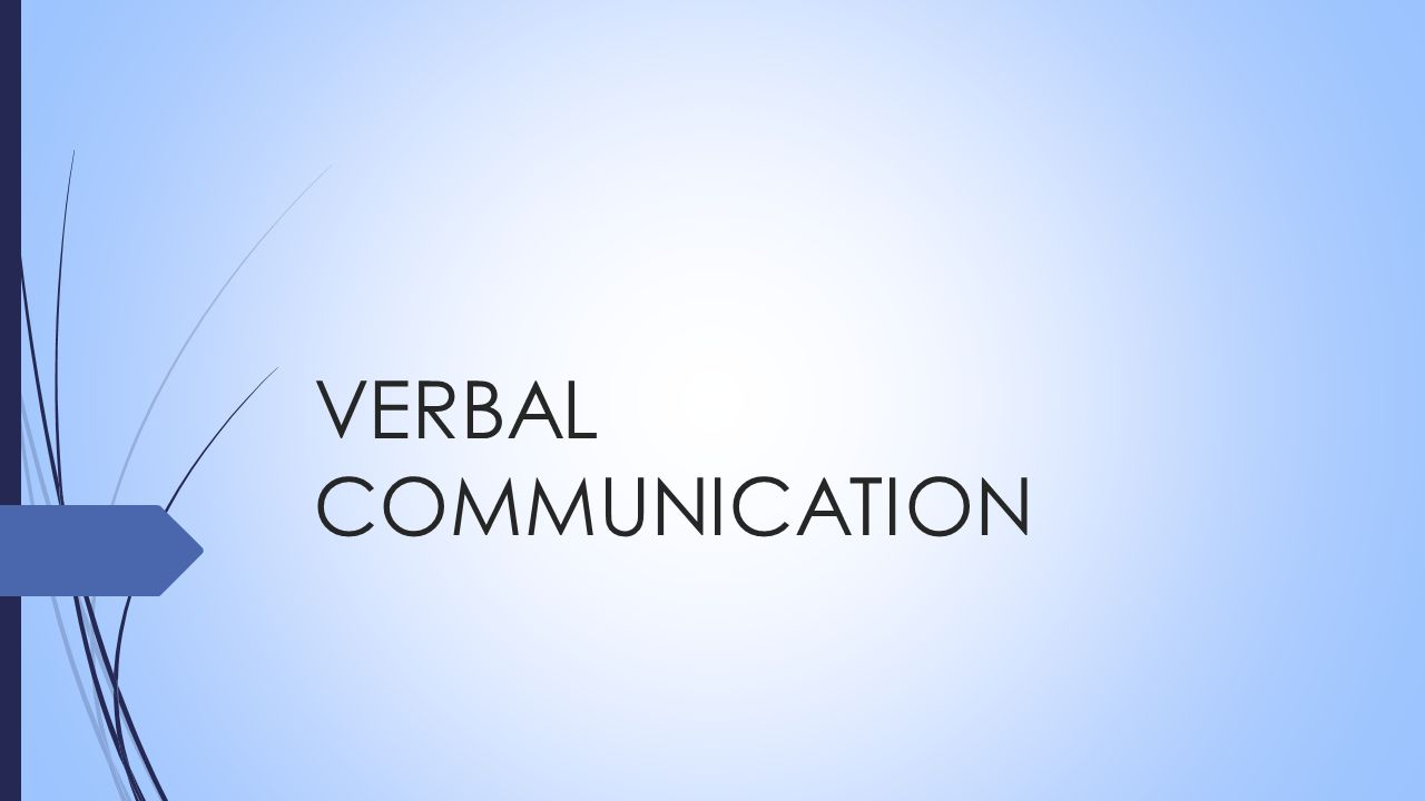 Verbal Communication Ppt Video Online Download