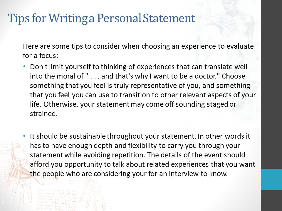 ideas for a personal essay A personal essay gives the reader a glimpse of your personal life experience a lot of times you may need to compose a personal essay it could be for a simple class assignment, or the requirement for a college application in order to gain ideas of writing a personal essay, you can get inspired by the listed topics below.