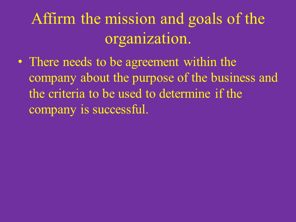 """the purpose and goals of a business corporation The problem of corporate purpose 1   observed that """"a business corporation is organized and carried on  discretion to determine the corporation's goals."""