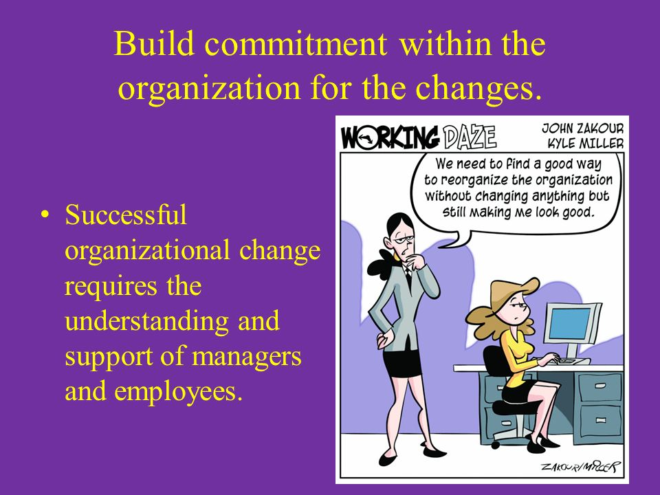 supporting change within an organisation Organisational development  practice to facilitate transformation within an organisation  processes as means to supporting culture change alongside.