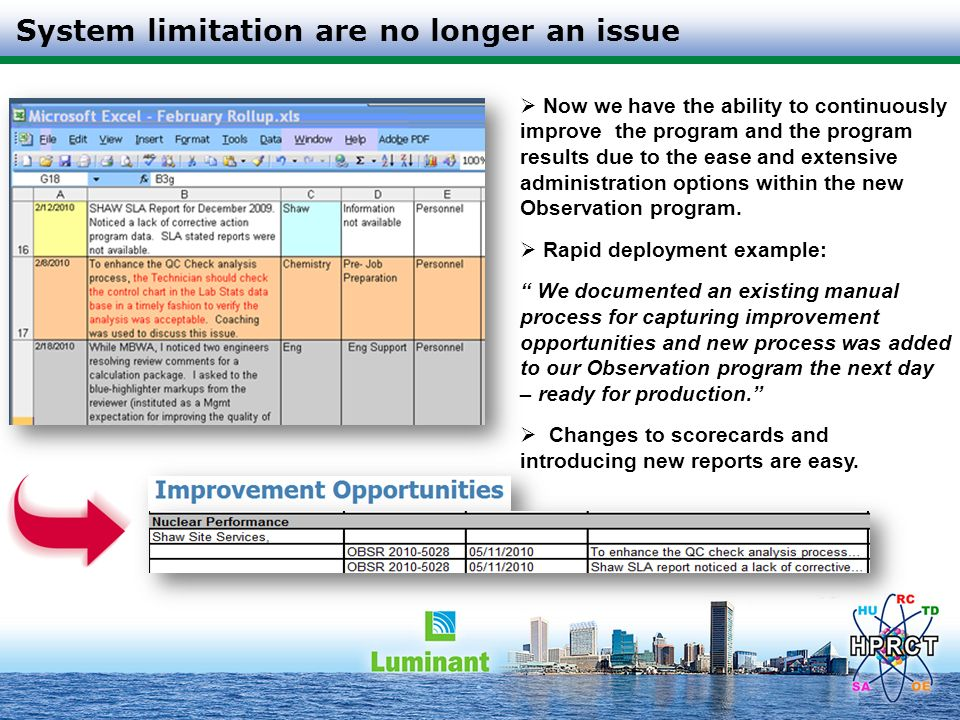 System limitation are no longer an issue