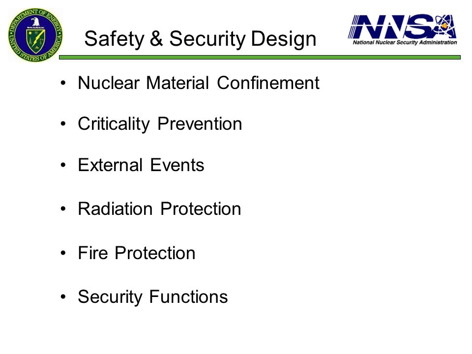 Safety & Security Design