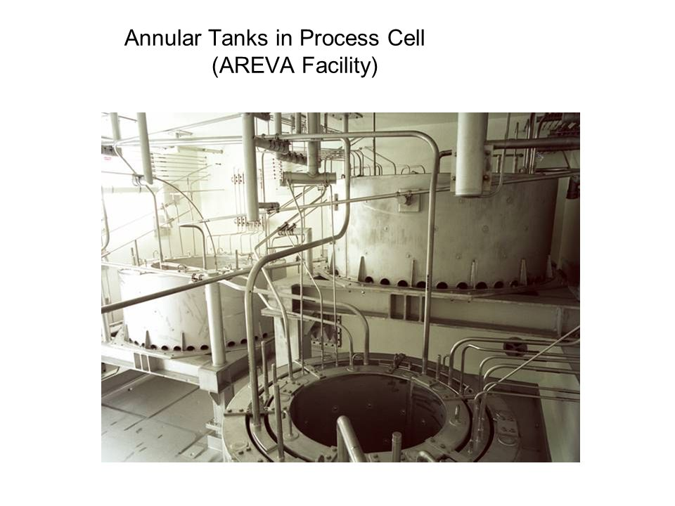 Annular Tanks in Process Cell (AREVA Facility)