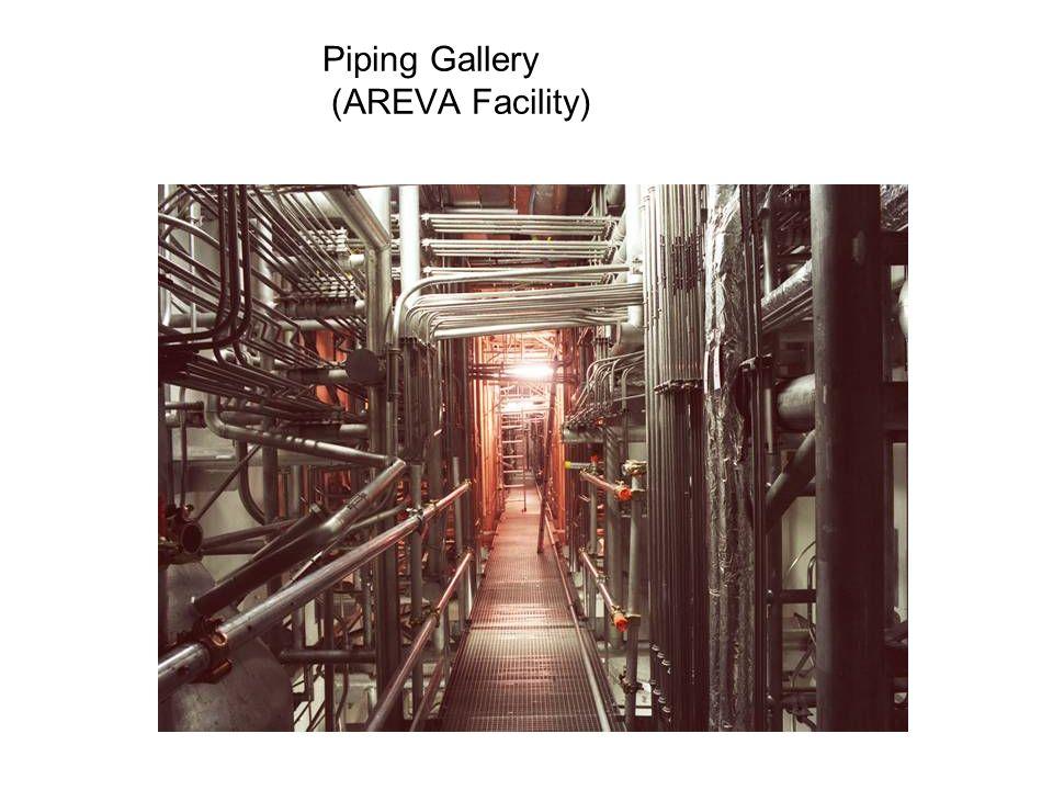 Piping Gallery (AREVA Facility)