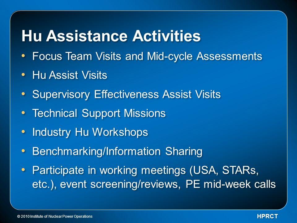 Hu Assistance Activities