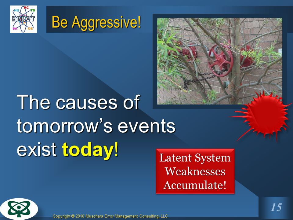 Latent System Weaknesses Accumulate!