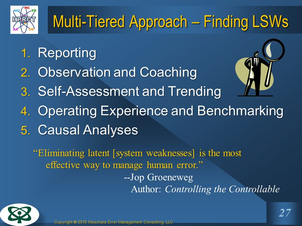Multi-Tiered Approach – Finding LSWs
