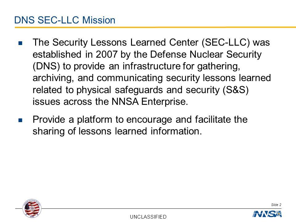 DNS SEC-LLC Mission