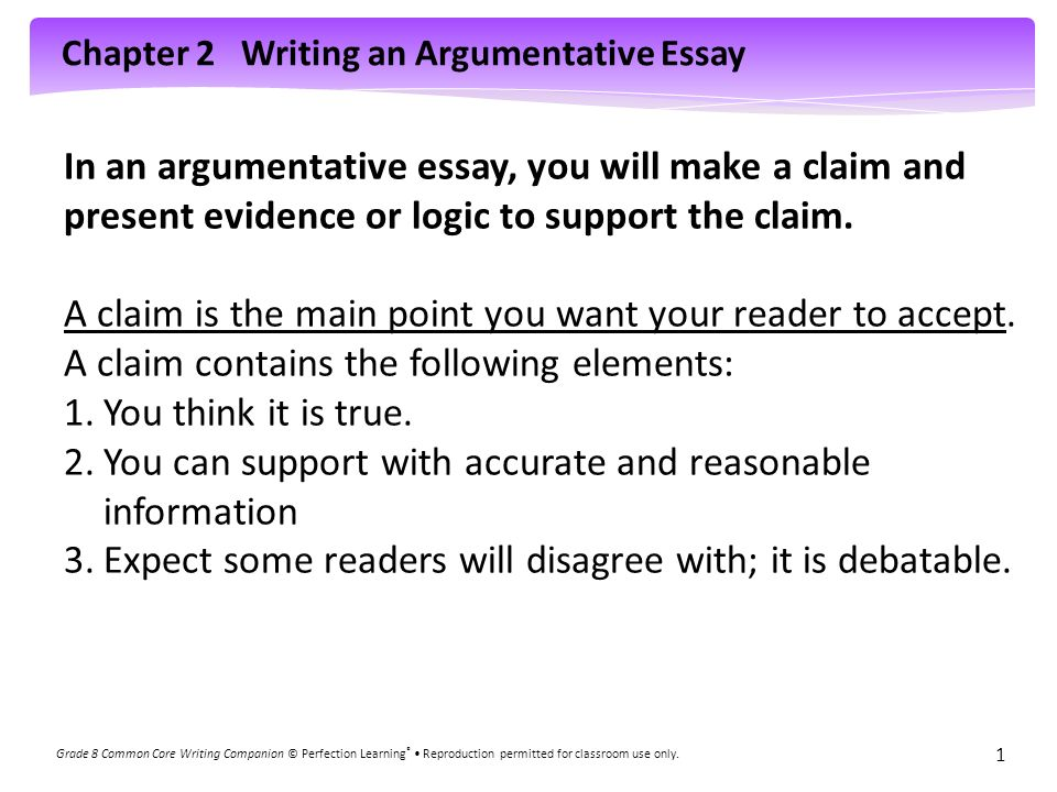 What is supporting evidence in an essay