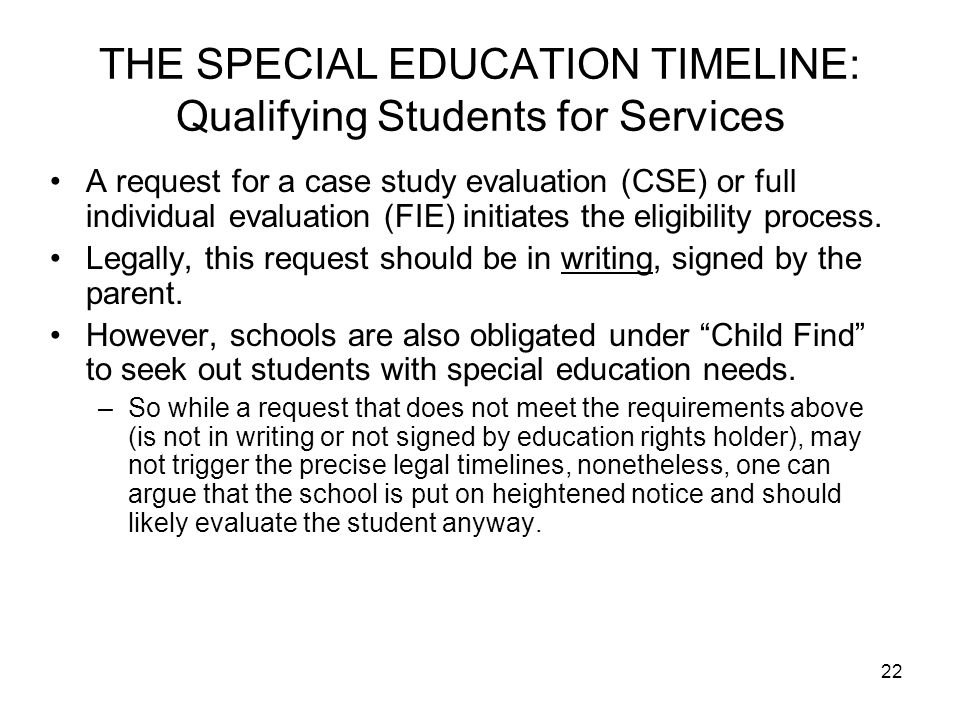 special education application essay