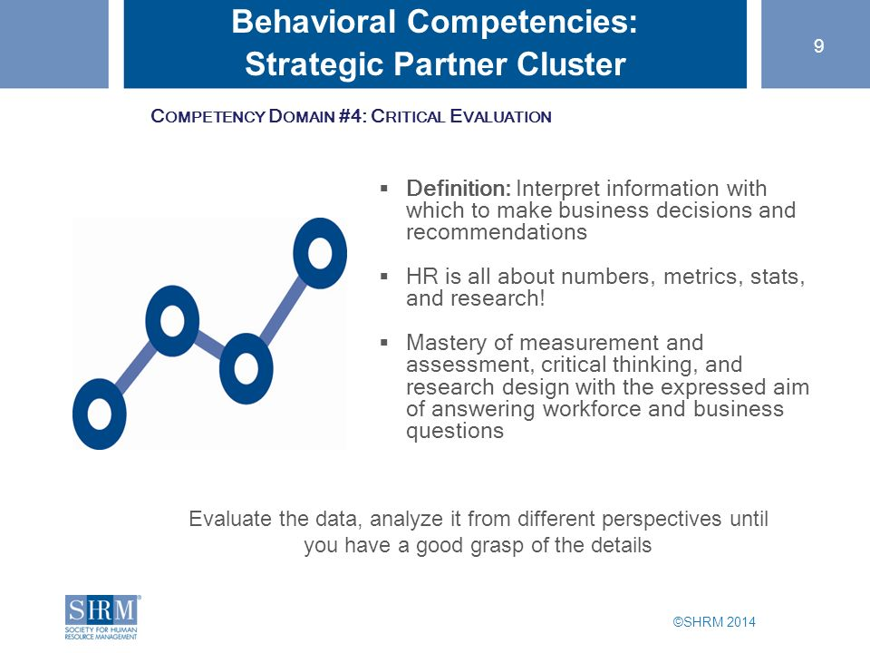 The Six Behavioural Competencies