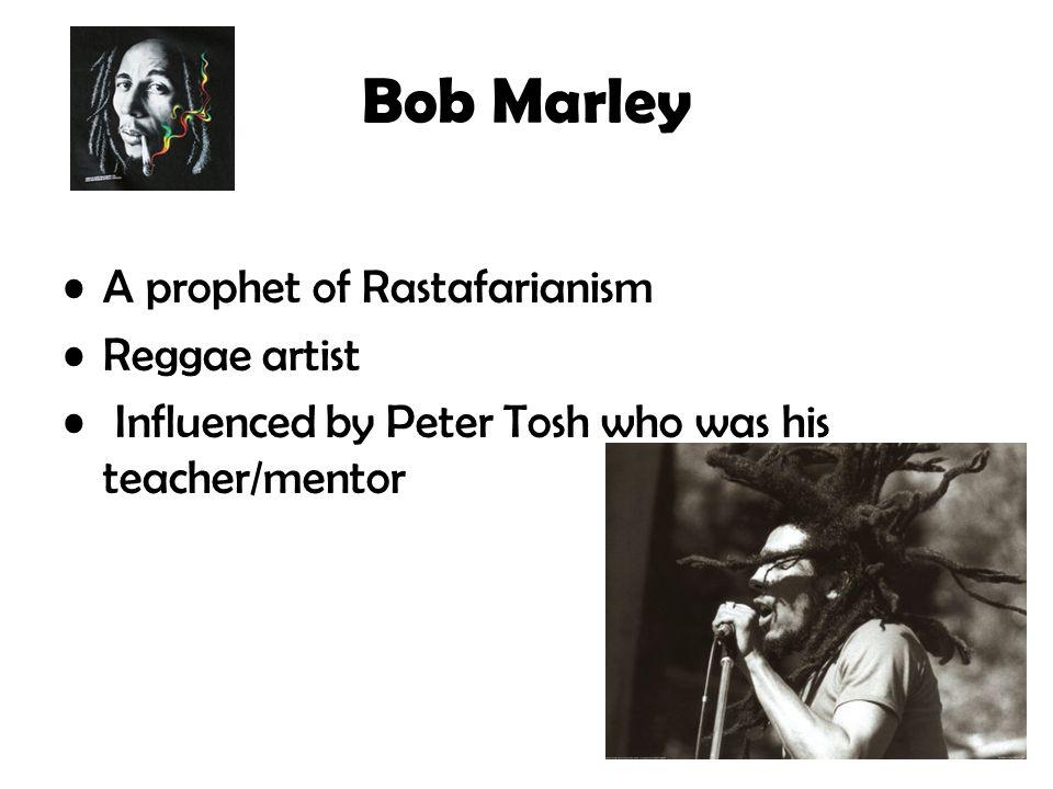 Bob Marley A prophet of Rastafarianism Reggae artist
