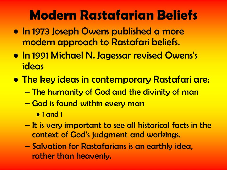 10 Things To Know About Rastafarian Beliefs