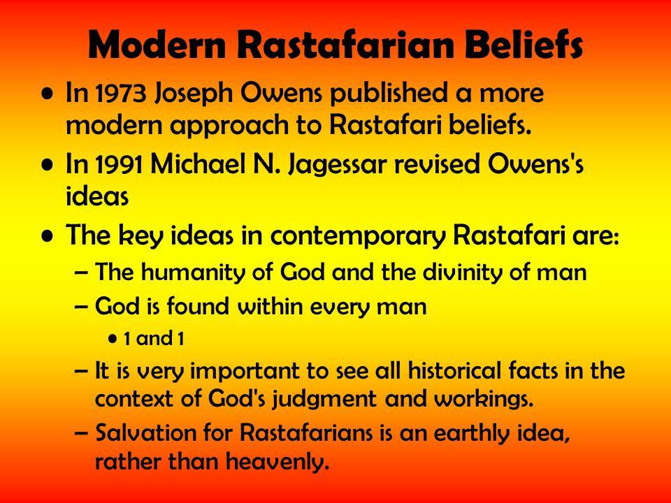 Modern Rastafarian Beliefs