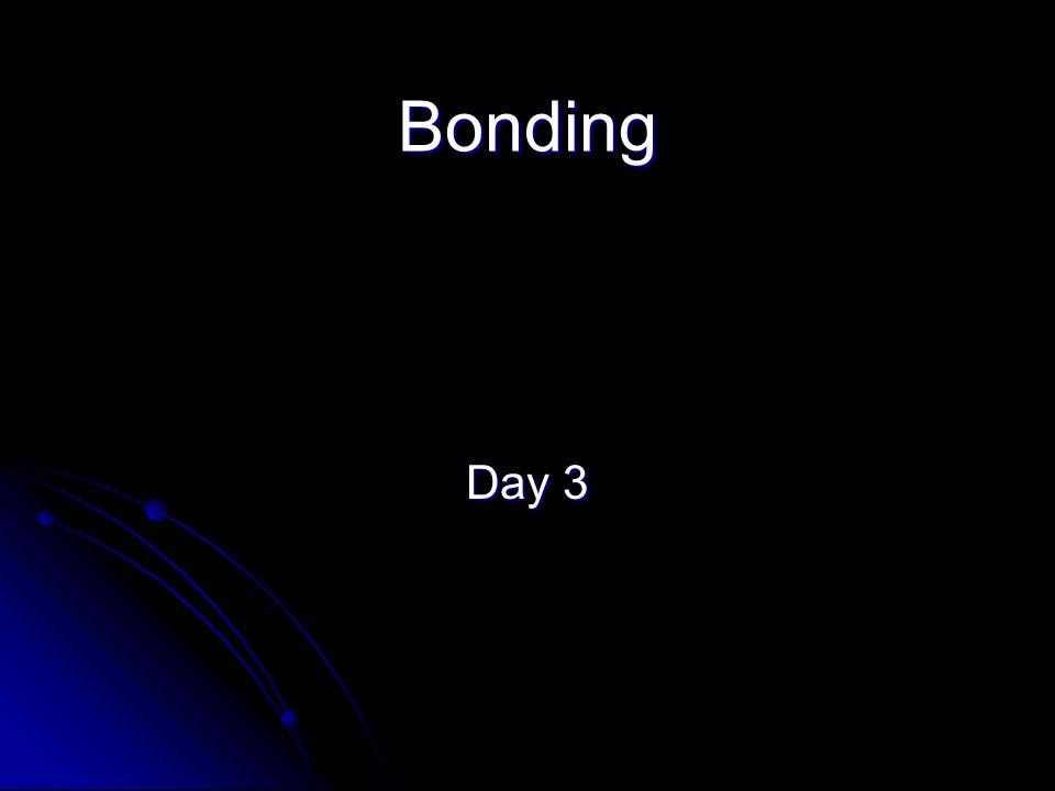 Bonding Day 3