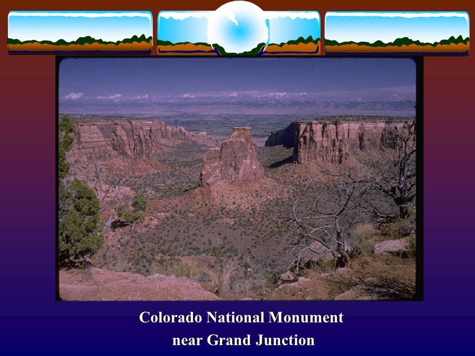 Colorado National Monument near Grand Junction