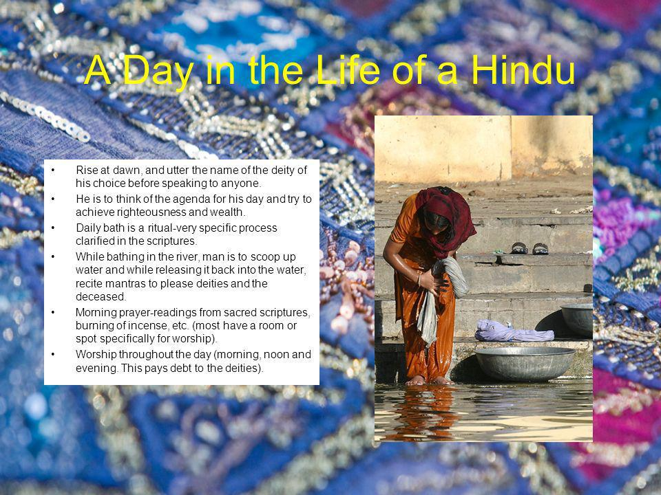 A Day in the Life of a Hindu