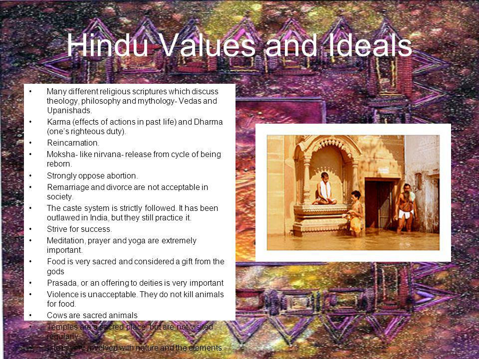 Hindu Values and Ideals