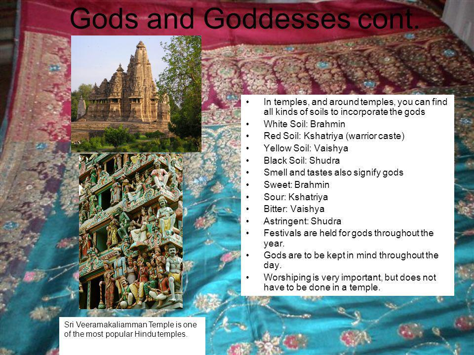 Gods and Goddesses cont.