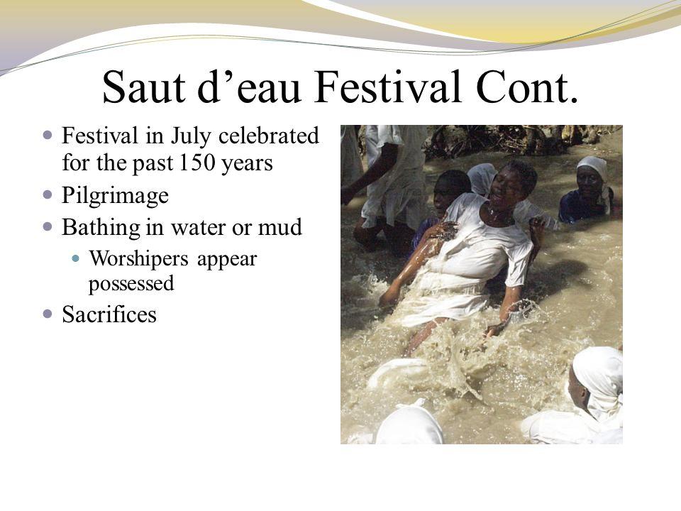 Saut d'eau Festival Cont.