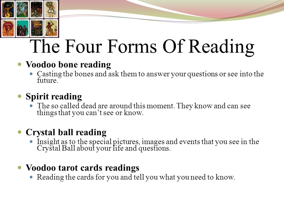 The Four Forms Of Reading